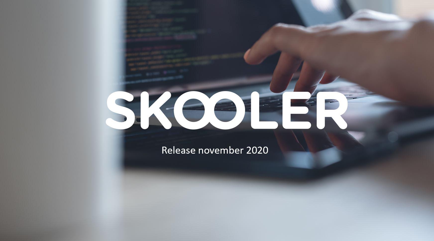 Release – november 2020